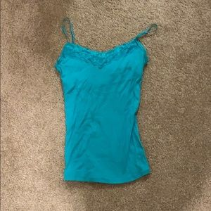 Turquoise cami